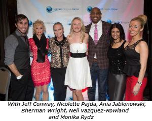 With Jeff Conway Nicolette Pajda Ania Jablonowski Sherman Wright Neli Vazquez-Rowland and Monika Rydz