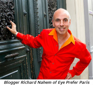 Blogger Richard Nahem of Eye Prefer Paris
