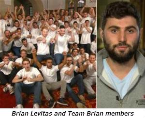 Brian Levitas and Team Brian members