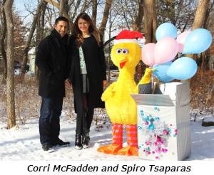 Corri McFadden and Spiro Tsaparas