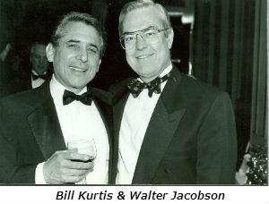 Bill Kurtis and Walter Jacobson