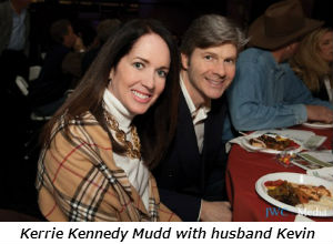 Kerrie Kennedy Mudd with husband Kevin