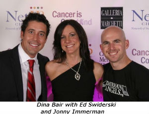 Dina Bair with Ed Swiderski and Jonny Immerman