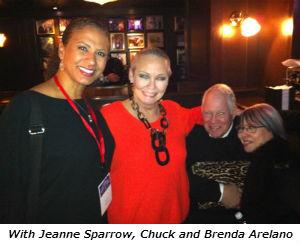 Jeanne Sparrow Chuck and Brenda Arelano
