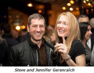 Steve and Jennifer Gerenraich