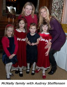 McNally family with Audrey Steffensen