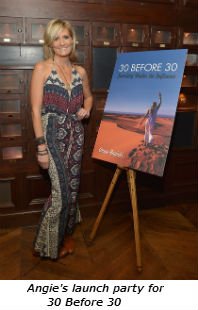 Angie's launch party for 30 Before 30