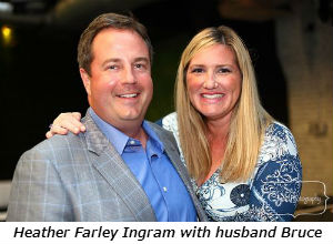 Heather Farley Ingram with husband Bruce
