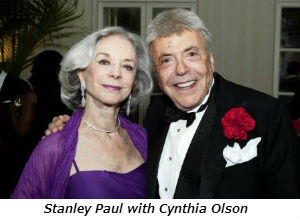 Stanley Paul with Cynthia Olson