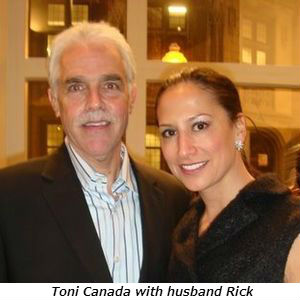 Toni Canada with husband Rick