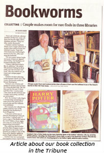 Bookworms-Tribune article