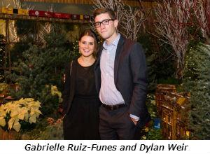 Gabrielle Ruiz-Funes and Dylan Weir