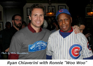 Ryan Chiaverini with Ronnie Woo Woo
