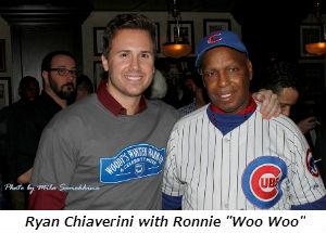 Ryan Chiaverini with Ronnie Woo Woo