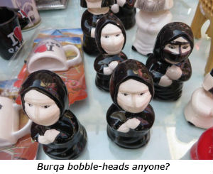 Burqa bobble-heads anyone