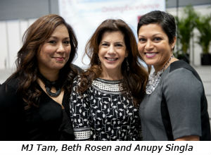 MJ Tam Beth Rosen and Anupy Singla