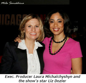 Exec. Producer Laura Michalchyshyn and the shows star Liz Dozier