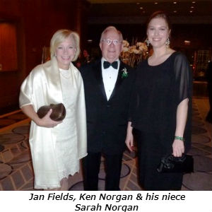 Jan Fields Ken Norgan Sarah Norgan