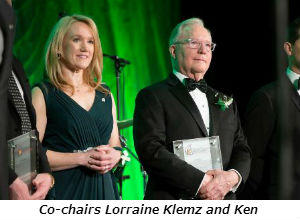 Co-chairs Lorraine Klemz and Ken Norgan