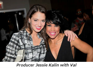 Producer Jessie Kalin with Val