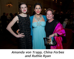 Amanda von Trapp China Forbes and Ruthie Ryan