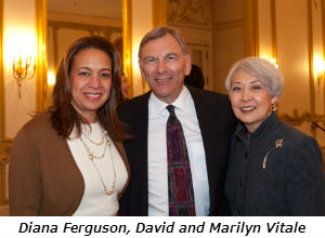Diana Ferguson David and Marilyn Vitale
