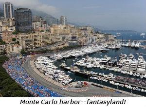 Monte Carlo harbor--fantasyland