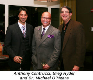 Anthony Contrucci Greg Hyder and Dr Michael OMeara
