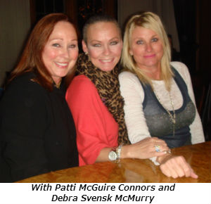 With Patti McGuire Connors and Debra Svensk McMurry