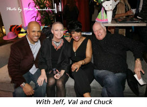 With Jeff Val and Chuck