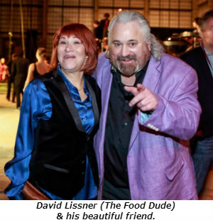 David Lissner The Food Dude and his beautiful friend