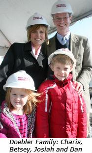 Doebler Family Charis Betsey Josiah and Dan