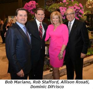 Bob Mariano Rob Stafford Allison Rosati Dominic DiFrisco