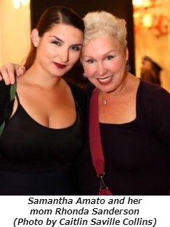 Samantha Amato and her mom Rhonda Sanderson