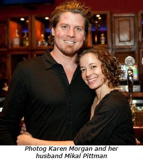 Photographer Karen Morgan and her husband Mikal Pittman