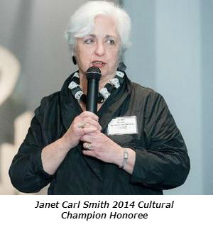 Janet Carl Smith 2014 Cultural Champion Honoree