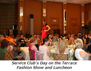 Service Club's Day on the Terrace Fashion Show and Luncheon