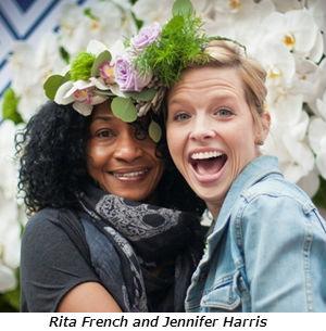 Rita French & Jennifer Harris