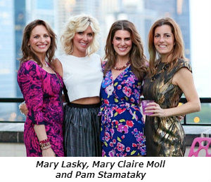 Mary Lasky, Mary Claire Moll, Pam Stamataky