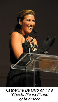 Catherine De Orio of TV Check Please! and gala emcee