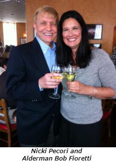 Nicki Pecori and Alderman Bob Fioretti