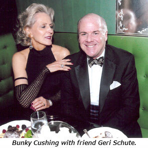 Bunky Cushing with friend Geri Schute