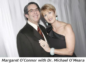 Margaret O'Connor with Dr. Michael O'Meara