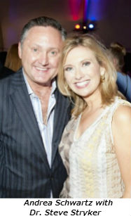 Andrea Schwartz with Dr Steve Stryker