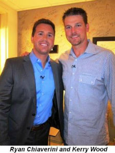 Ryan Chiaverini with Kerry Wood