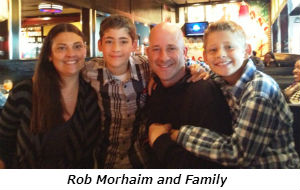 Rob Morhaim and Family