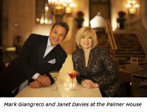 Mark Giangreco and Janet Davies at the Palmer House