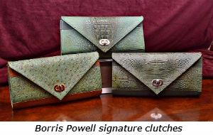 Borris Powell signature clutches