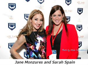 Jane Monzures and Sarah Spain