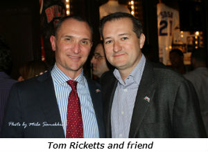 Tom Ricketts and friend
